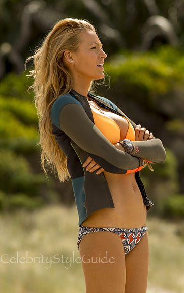 Blake Lively Is Very Fashionable In The Shallows