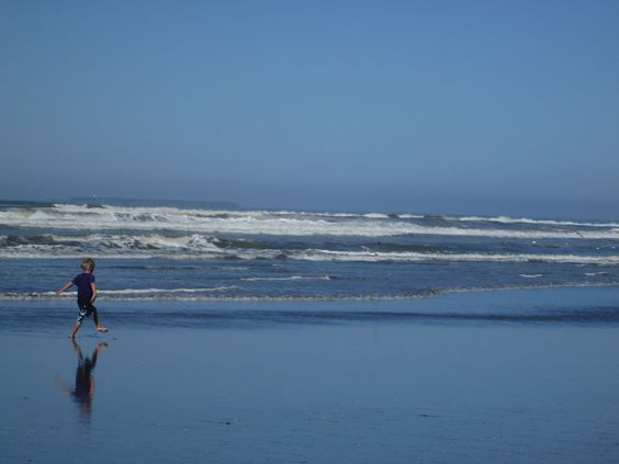 Kalaloch in Washington.  An sandy ocean beach that is meant for play.