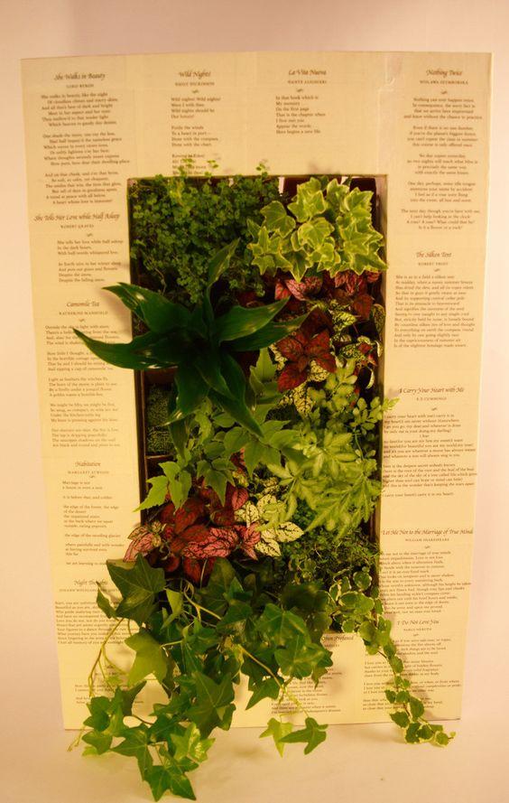 BrightGreen Paintable GroVert Living Wall Planter Kit   Green Thumb ...