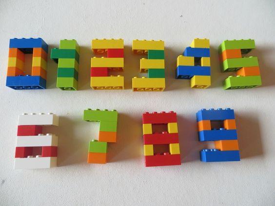 Constructions math matiques en l gos id es pour le cp at home de minette - Idee construction lego ...