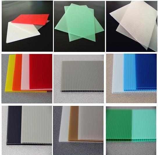 Qingdao Skyd Polypropylene Plastic Corrugated Board Max Width 2 4m Length Custom Thick 1 8mm 12mm C Plastic Sheets Corrugated Plastic Polypropylene Plastic