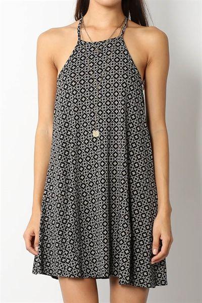 Vestido estampado de verano. irenesstory.com: