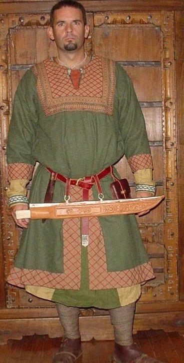 Norman coat tunic