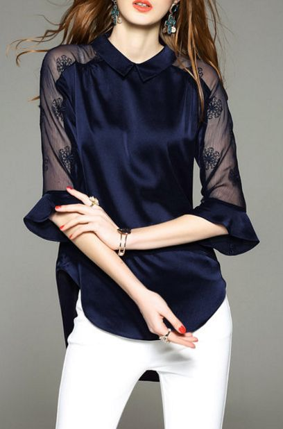 39 Elegant Blouses To Not Miss outfit fashion casualoutfit fashiontrends