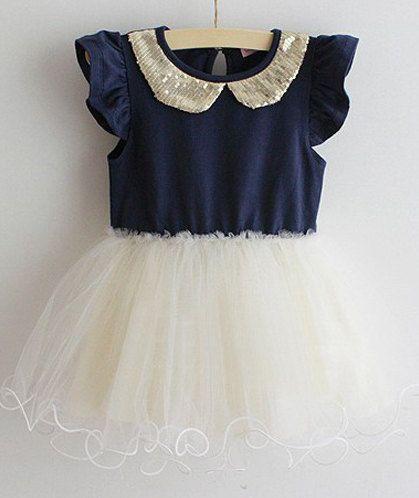 Navy blue dress 4t north