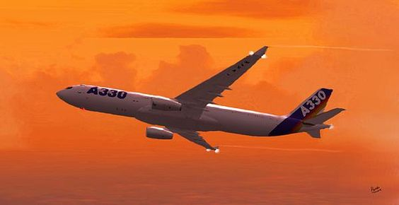 Airbus 330 By Marcello Cicchini