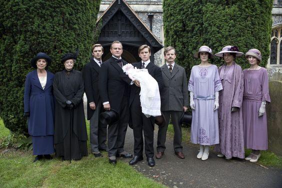 The Crawley family