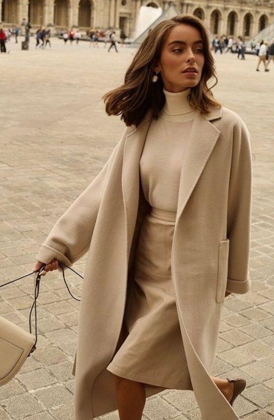МИНИМАЛИЗМ - стиль элегантных женщин: Идеи осенних образов | StyleLIVE.com | Яндекс Дзен