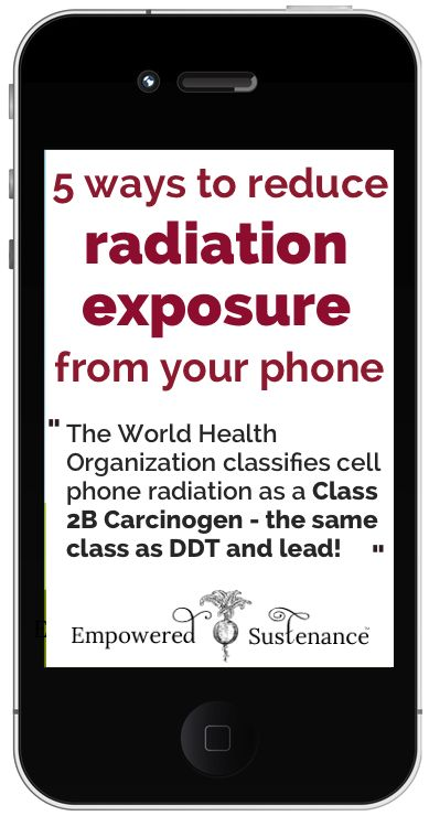 Phone radiation is a class 2B carcinogen - these are important tips to follow, especially for kids and expectant mothers #health: