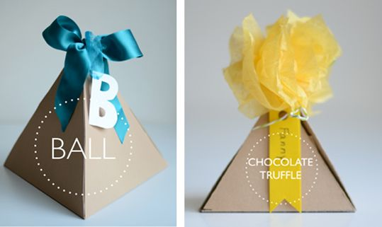 lovelovelove these pyramid packages
