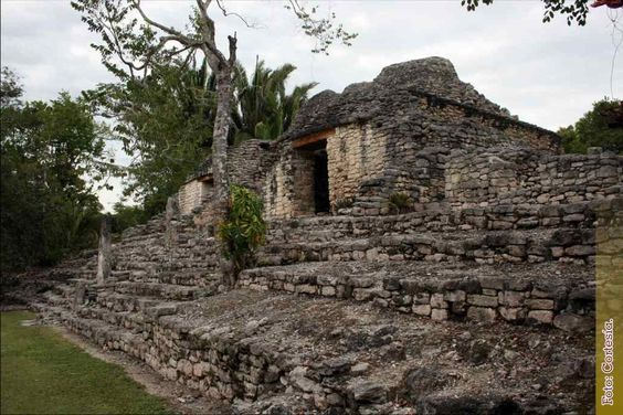Zona Arqueológica Kohunlich, México