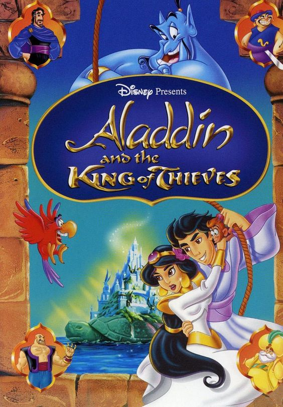 Day 28: FAVORITE SEQUEL Aladdin and the King of Thieves. It's one of the better sequels I've seen compared to other Disney movies. I love it!