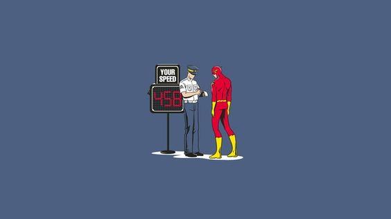 funny superhero comics | ... dc comics superheroes police funny the flash flash superhero Wallpaper