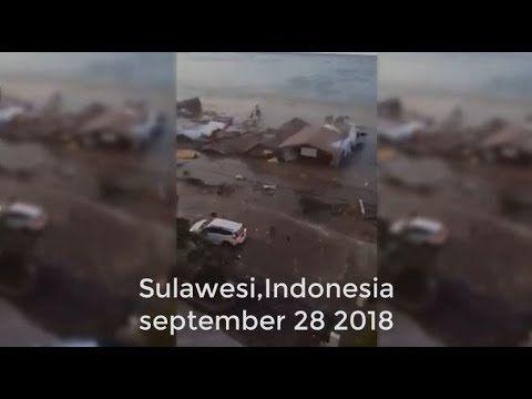 Breaking News Tsunami Happened In Indonesia 28th September 2018
