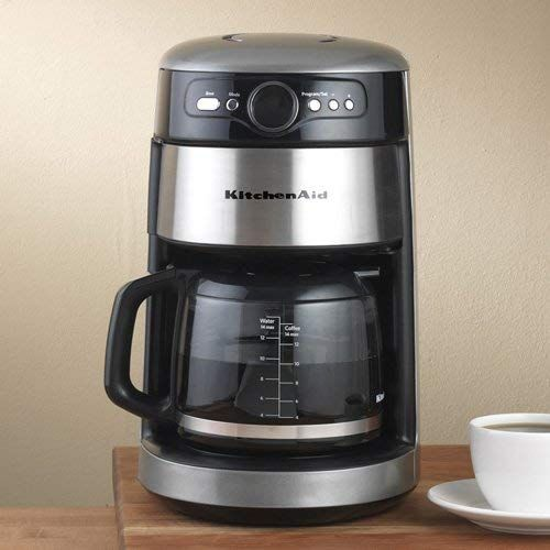 Kitchenaid 14 Cup Silver Coffee Maker Review Coffee Maker