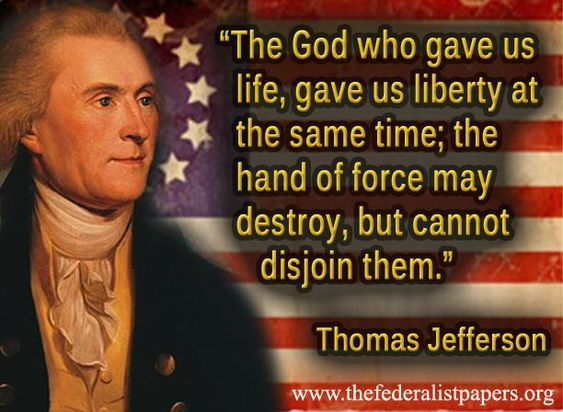 Image result for the creator god of thomas jefferson