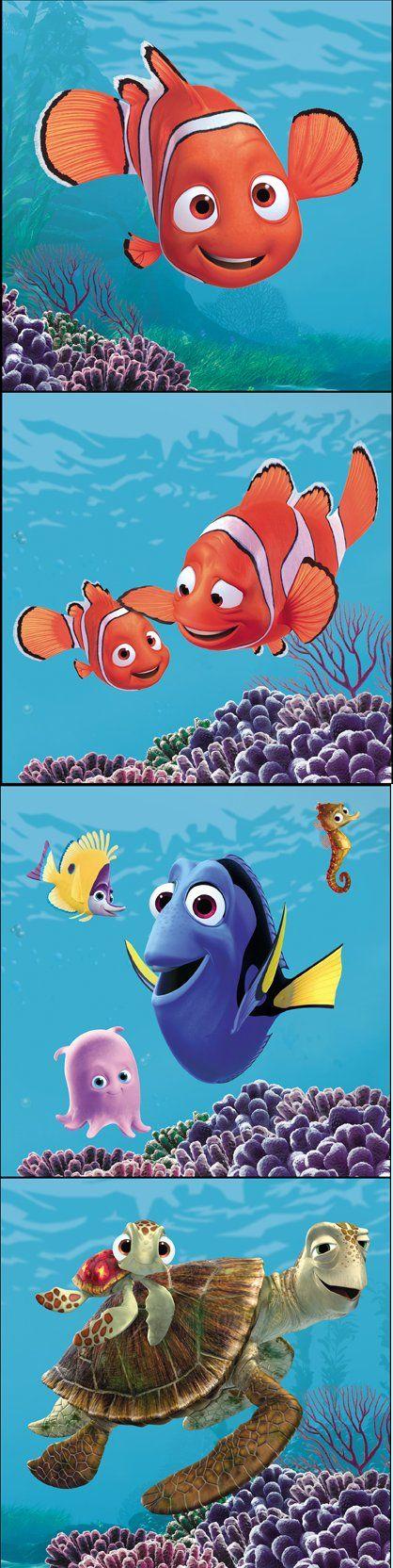 I love these guys!!!  Especially Crush!!  Koo Koo KaChoo!!