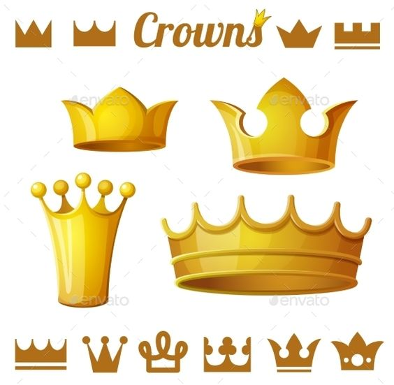Cartoon Queen With Crown