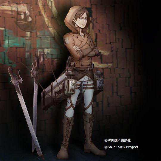 "Eren has been added to Hangeki no Tsubasa's ""Dawn of Revolution"" class! (Source)"