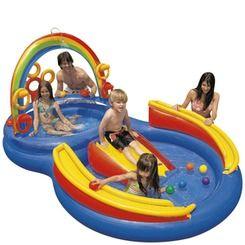 Intex® Rainbow Ring Play Center | http://www.stoneberry.com