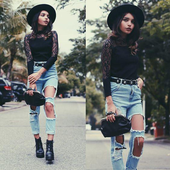 Este look:   O guia de estilo para virar uma perfeita gótica suave