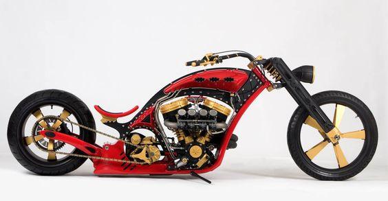 sniper ... thunder struck custom bikes