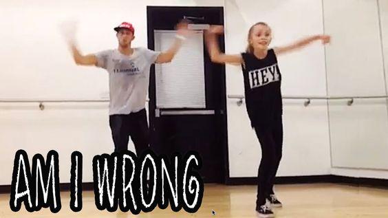 'AM I WRONG' Dance Video | @MattSteffanina ft 11 year old TAYLOR HATALA