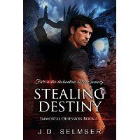 #Book Review of #StealingDestiny from #ReadersFavorite  Reviewed by Rabia Tanveer for Readers' Favorite    In Stealing Destiny by J.D. Selmser, Destiny is the prize and both Zahir and Damien want her, but only one can have her and the other will live in hell… forever. When Damien kissed Destiny for the first time, he knew she was the one. He would do anything to make her his. But life had other plans for him. Just when he was ecstatic and running high on euphoria, he had an accident on a…