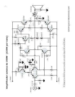 Amplificador Estereo 250 Watts Com Imagens Amplificador De