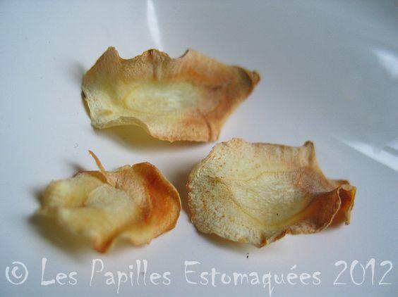 comment cuisiner le panais ??  en chips !! sans matière grasse...