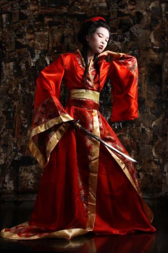 kimono-inspired