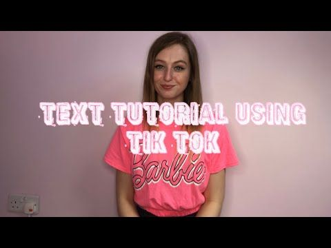 How To Add Text Into Your Tik Tok Video Using Only The App Tik Tok Youtube Text Tutorial Tutorial Tok