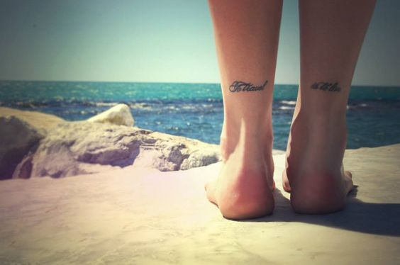 to travel is to live feet tattoo