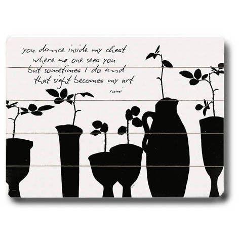 My Art by Artist Lisa Weedn Wood Sign