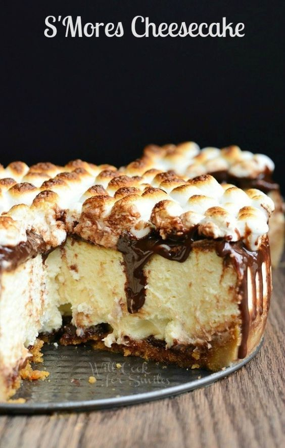 S'mores Cheesecake | 12 Next-Level Cheesecakes You Should Try In This Lifetime