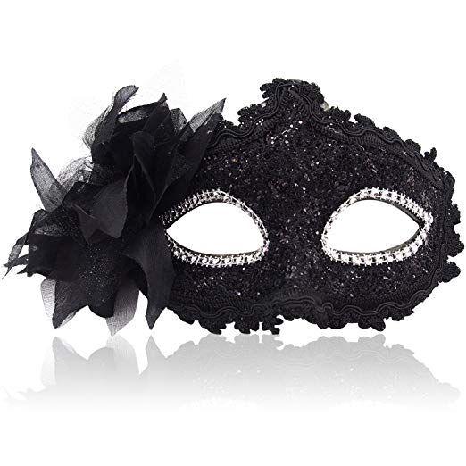 Eye Cosplay classique Visage moitié style vénitien masque de mascarade
