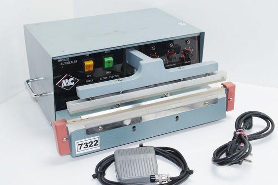 TA MS300IP Impuls Folienschweißgerät m. Fußpedal, Balkenschweißgerät *7322…