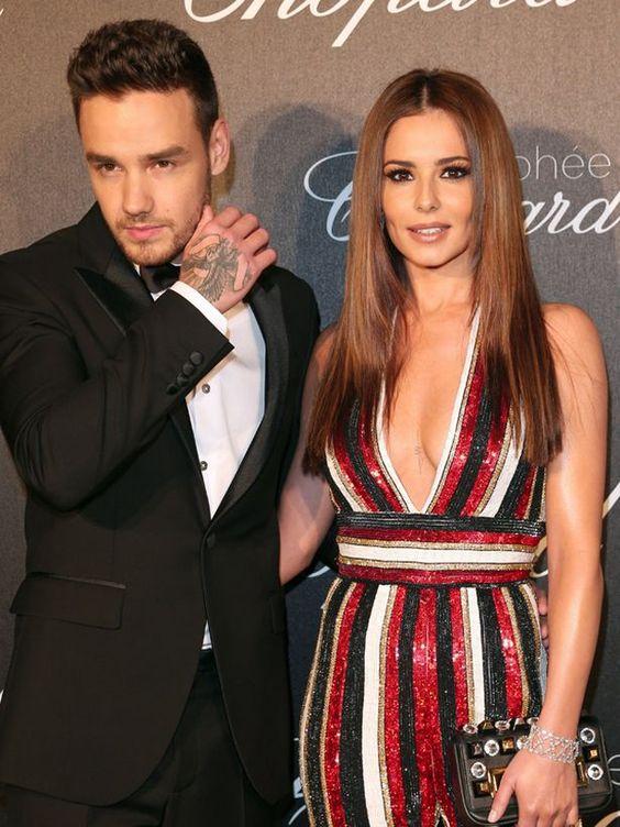 Cheryl Cole and her boyfriend Liam Payne
