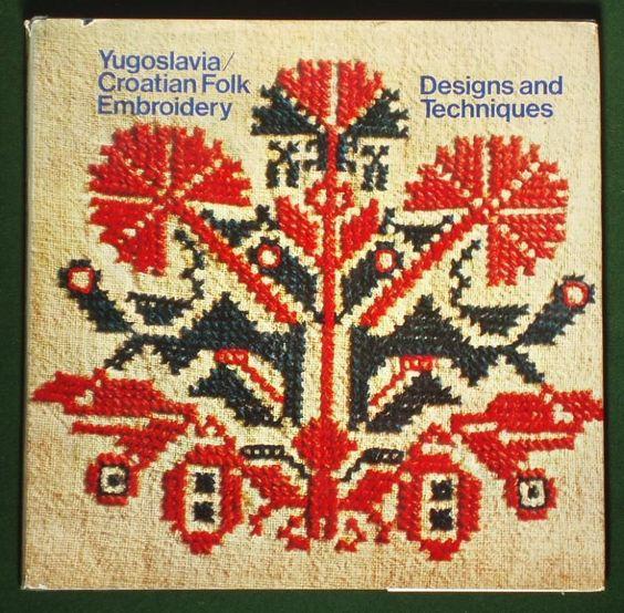 Croatian Folk Embroidery Dubrovnik / Ragusa / Croatia / BiH Pinterest F...