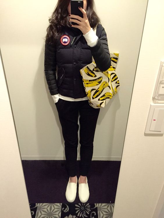 Canada Goose hats outlet price - Canada Goose Freestyle vest, UNIQLO sweatshirt and down jacket ...