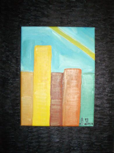 Pintora Adelaide Moça   Óleo sobre tela   Tamanho 18*24 em base de tela 30*40