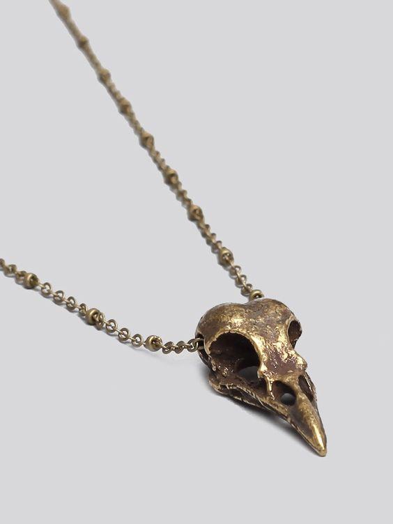 Drifter Skull Necklace - Jewelry | GYPSY WARRIOR