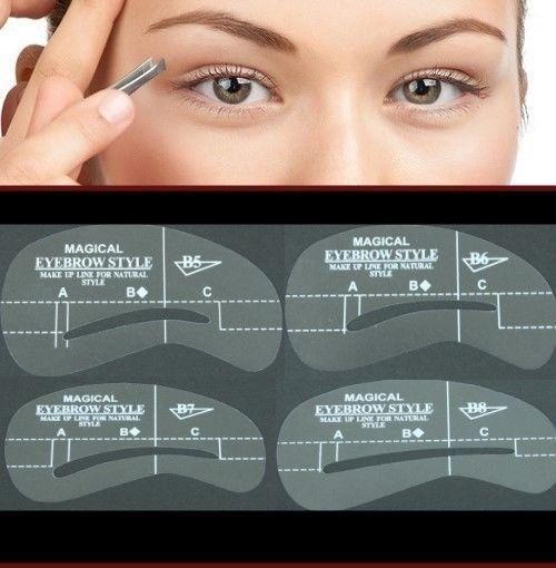 Augenbrauen Schablonen-Set   eBay