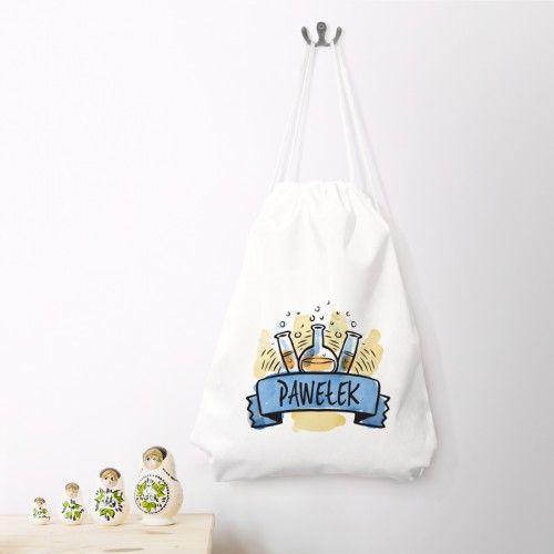 Personalizowany Worek Na Buty Z Imieniem Idealny Gadzet Dla Malego Szkolniaka Laundry Bag Bags Laundry Organization
