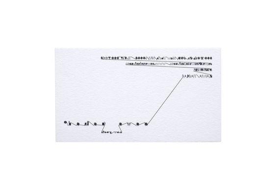 Fashion Designer's Business Card | Unique Buisness Card Design Idea | Award-winning Graphic Design | D&AD