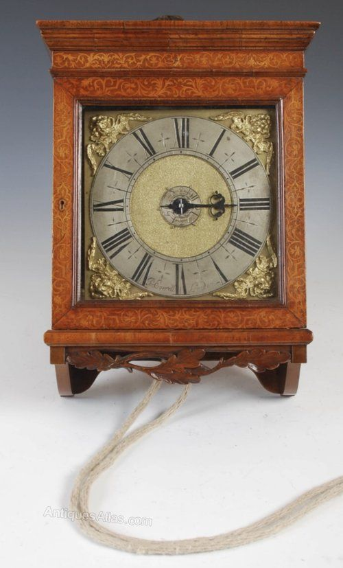 Antiques Atlas Rare Marquetry Small London Hooded Wall Clock Antique Wall Clocks Clock Antiques