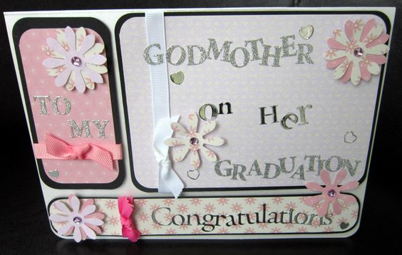 Cards and personal - godmother graduation
