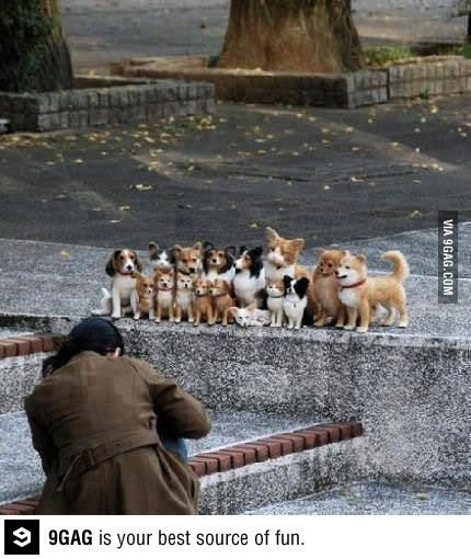"""Family Picture.  """"smile"""""""
