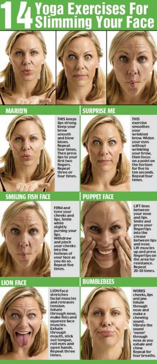 Face yoga exercises nose