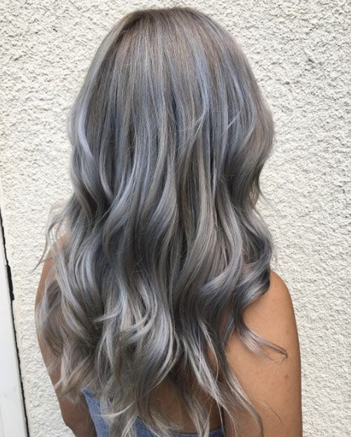 41 Brilliant Ways To Wear Gray And Silver Hair Color With Images